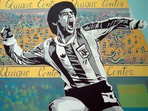 La joie de Maradona
