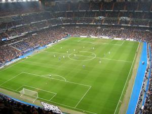 Le stade Santiago Bernabeu, à Madrid