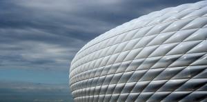 Le stade de l'Allianz Arena à Munich