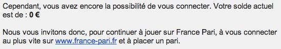 Comment éviter la fermeture de son compte joueur chez France Pari?