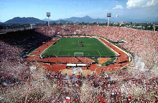 La finale de la Copa America 2015 entre le Chili et l'Argentine se jouera à l'Estadio Nacional de Santiago du Chili.