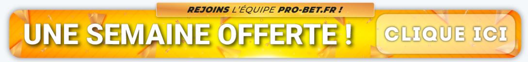 Probet offre une semaine de paris pronostics gratuits